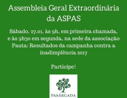 Assembleia da ASPAS