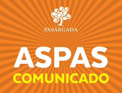 Comunicado Aspas 31.07.2019